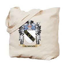 Clarkson Coat of Arms - Family Crest Tote Bag