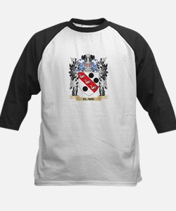 Clark Coat of Arms - Family Crest Baseball Jersey