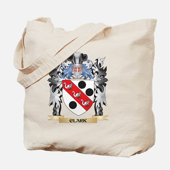 Clark Coat of Arms - Family Crest Tote Bag