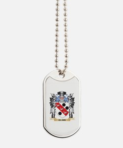Clark Coat of Arms - Family Crest Dog Tags