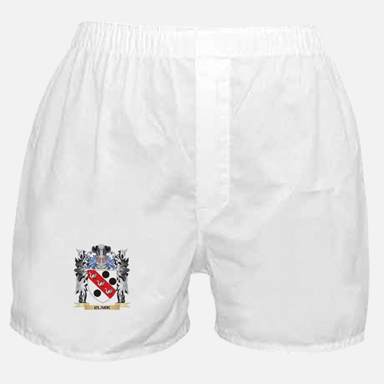 Clark Coat of Arms - Family Crest Boxer Shorts