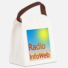 Radio InfoWeb Logo Canvas Lunch Bag