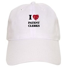 I love Patent Clerks Baseball Cap