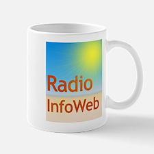 Radio InfoWeb Logo Mugs