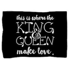 Fun King and Queen Mr. & Mrs. Pillow Sham
