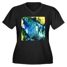 Caribbean Paradise Plus Size T-Shirt