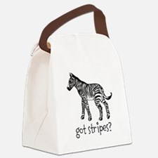 Got Stripes Canvas Lunch Bag