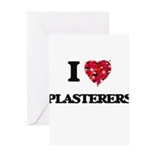 I love Plasterers Greeting Cards