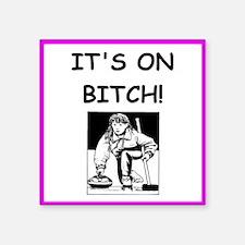 ice curling joke Sticker