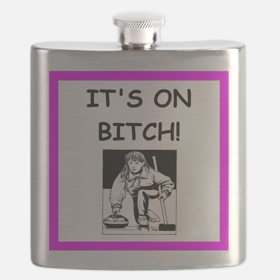 ice curling joke Flask