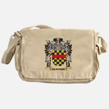 Clifford Coat of Arms - Family Crest Messenger Bag