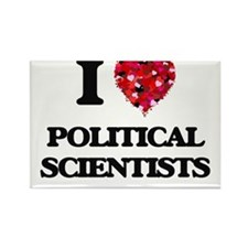 I love Political Scientists Magnets