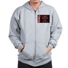 Carly Fiorina for President V3 Zip Hoodie