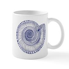 Vintage Shell Print Mug