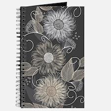 Elegant Floral Journal