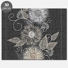 Elegant Floral Puzzle