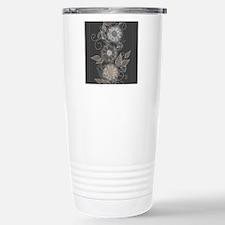 Elegant Floral Travel Mug