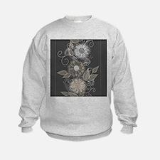 Elegant Floral Sweatshirt
