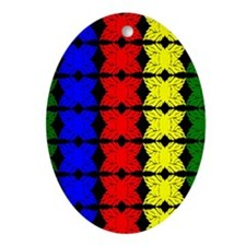Afrocentric design Ornament (Oval)