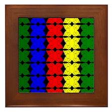 Afrocentric design Framed Tile