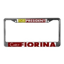 Carly Fiorina for President V1 License Plate Frame