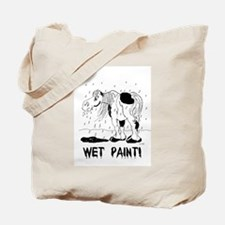 Cute American paint horse Tote Bag