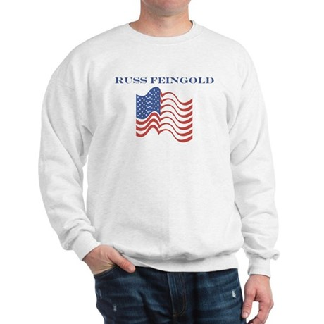 Russ Feingold (american flag) Sweatshirt