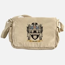 Cluff Coat of Arms - Family Crest Messenger Bag