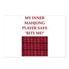mahjong joke Postcards (Package of 8)