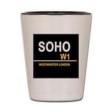 SOHO UK BLK Shot Glass