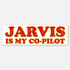 Jarvis Is My Co-Pilot Bumper Bumper Bumper Sticker