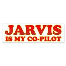 Jarvis Is My Co-Pilot Bumper Bumper Sticker