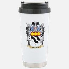 Clymer Coat of Arms - F Stainless Steel Travel Mug