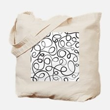 Swirls Pattern Tote Bag