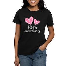 10th Anniversary Hearts Tee