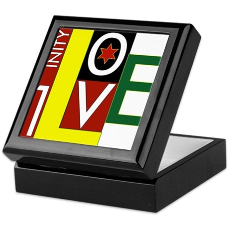 Rasta Gear Shop One Love Keepsake Box