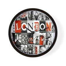 I Luv London Wall Clock