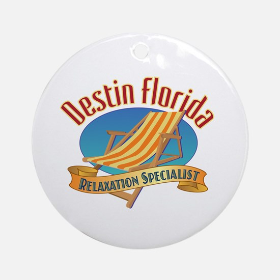 Destin Florida - Ornament (Round)