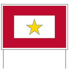 Gold Star Flag Yard Sign