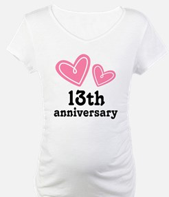 13th Anniversary Hearts Shirt