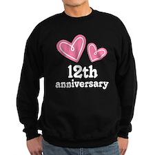 12th Anniversary Hearts Sweatshirt