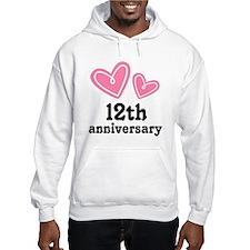 12th Anniversary Hearts Hoodie