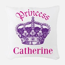 Princess (p) Woven Throw Pillow
