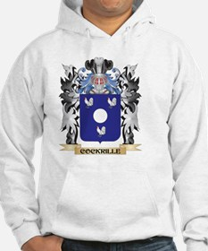 Cockrille Coat of Arms - Family Hoodie