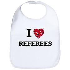 I love Referees Bib