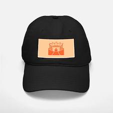 Orange Stadium Baseball Hat