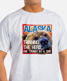 Alaska: Thinning the Herd One Tourist at a Time T-