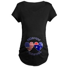 Australia USA Friends 2a T-Shirt