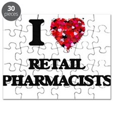 I love Retail Pharmacists Puzzle
