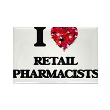 I love Retail Pharmacists Magnets